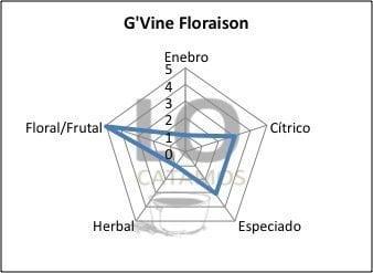 Pentagono LOCatamos Ginebra GVine Floraison
