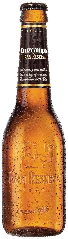 Cerveza Cruzcampo gran reserva 1904