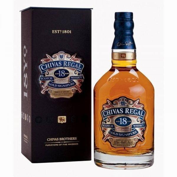 Whisky Chivas Regal 18 años Gold Signature