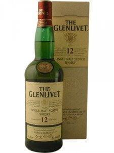 Whisky Glelivet 12 años