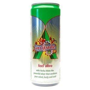 Bebida energética natural Attitude