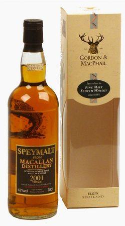 Whisky Macallan 2001 Vintage Edition