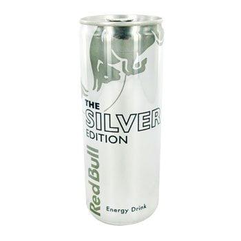 Red bull silver special edition bebida energética