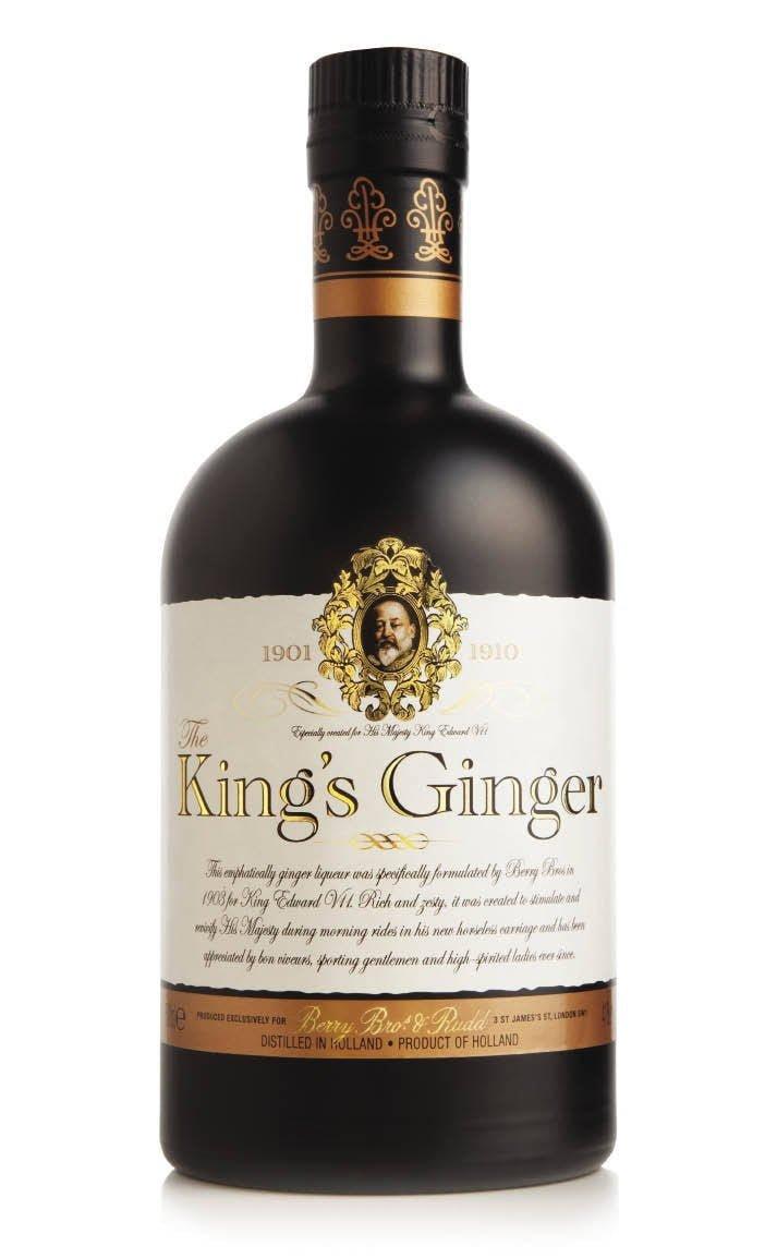 Licor de gengibre King Ginger
