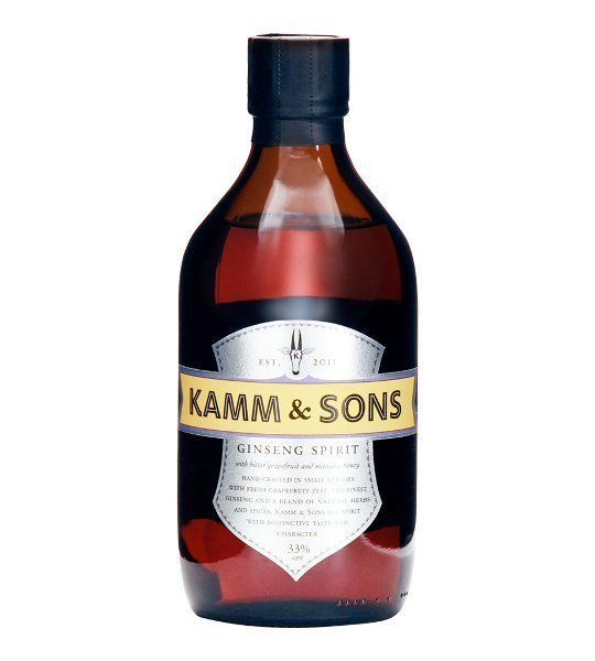 Licor de ginseng Kamm and Sons