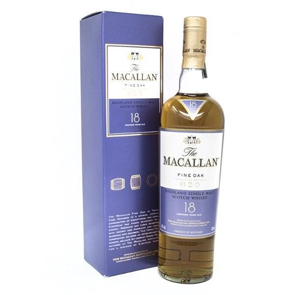 macallan 18 whisky de malta