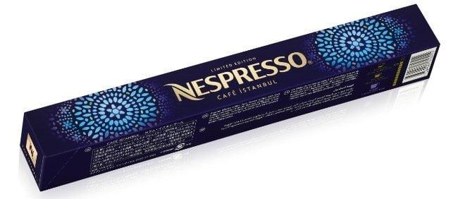 Nespresso café Istambul edición limitada cápsulas