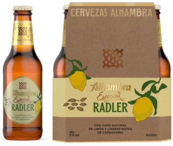 alhambra radler con cardamomo botella