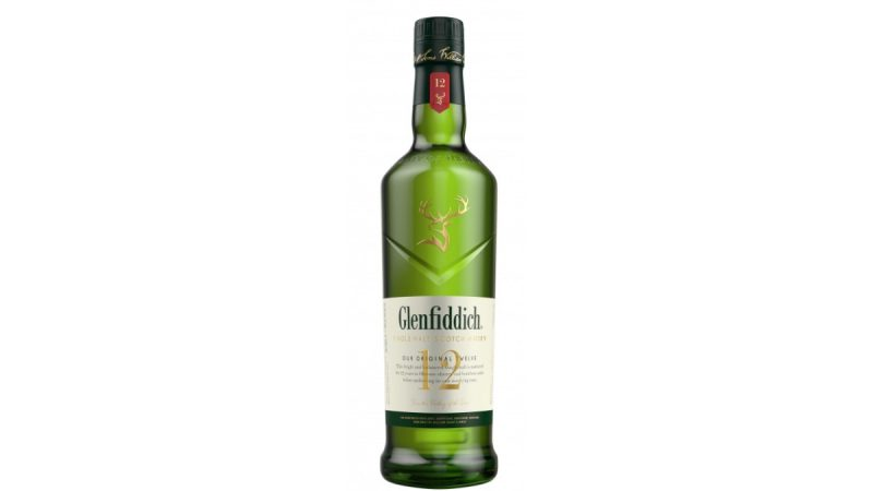 glenfiddich 12 años single malt whisky speyside