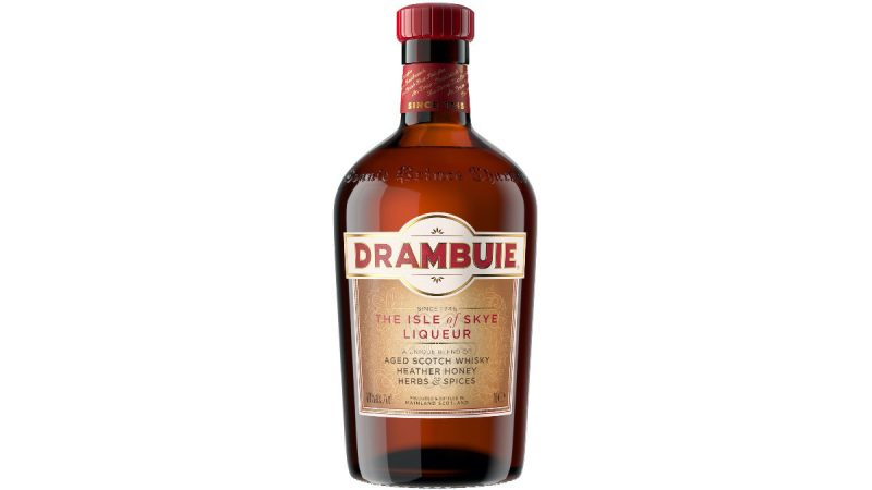 licor drambuie aged scotch whisky liqueur botella Skye